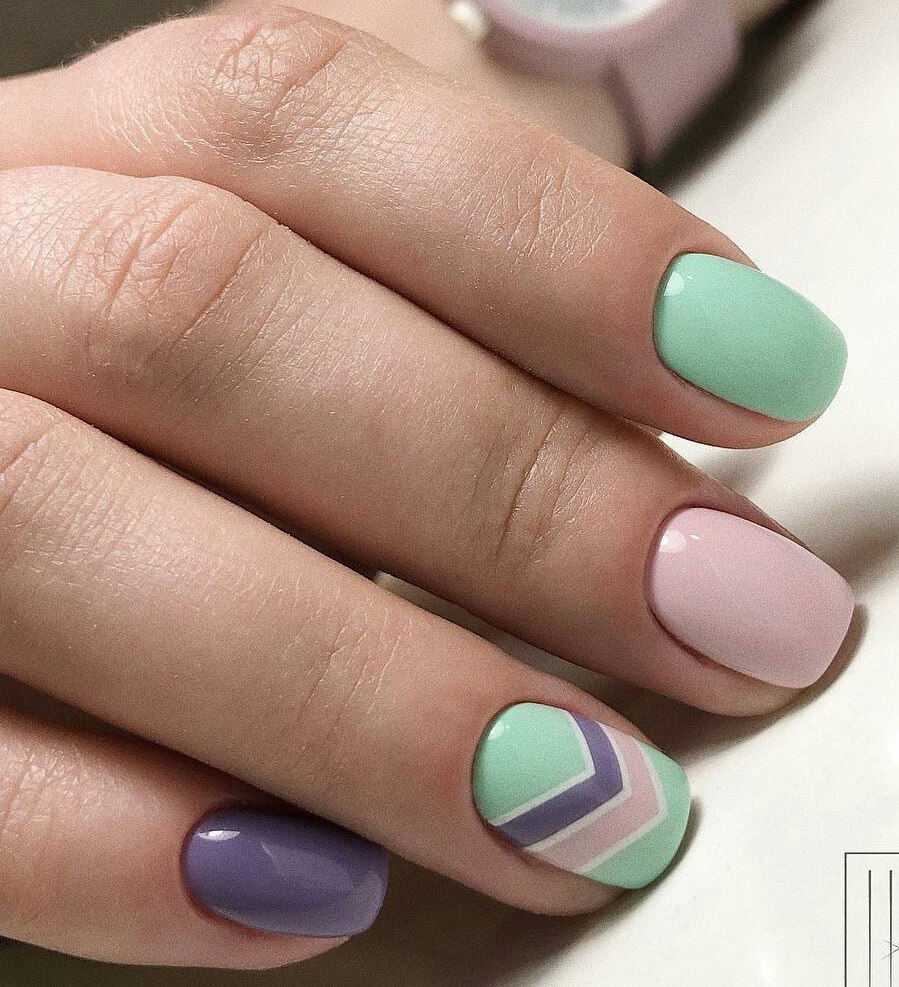 Ideas of gentle nails