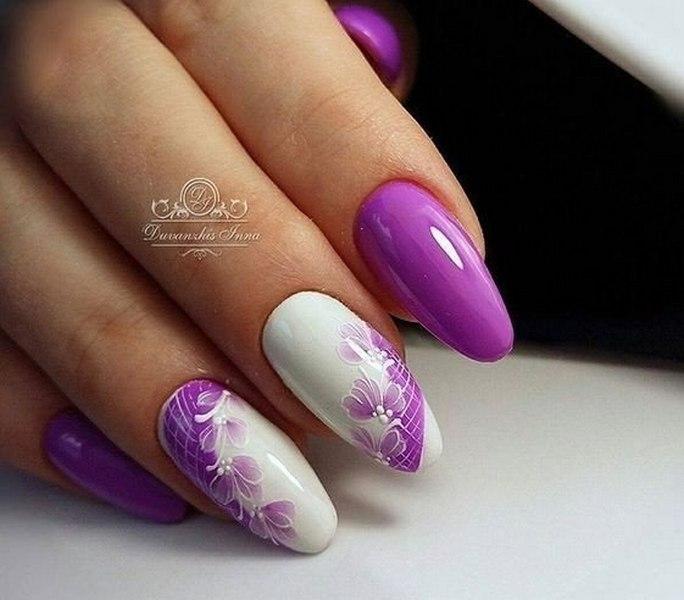 Summer long nails