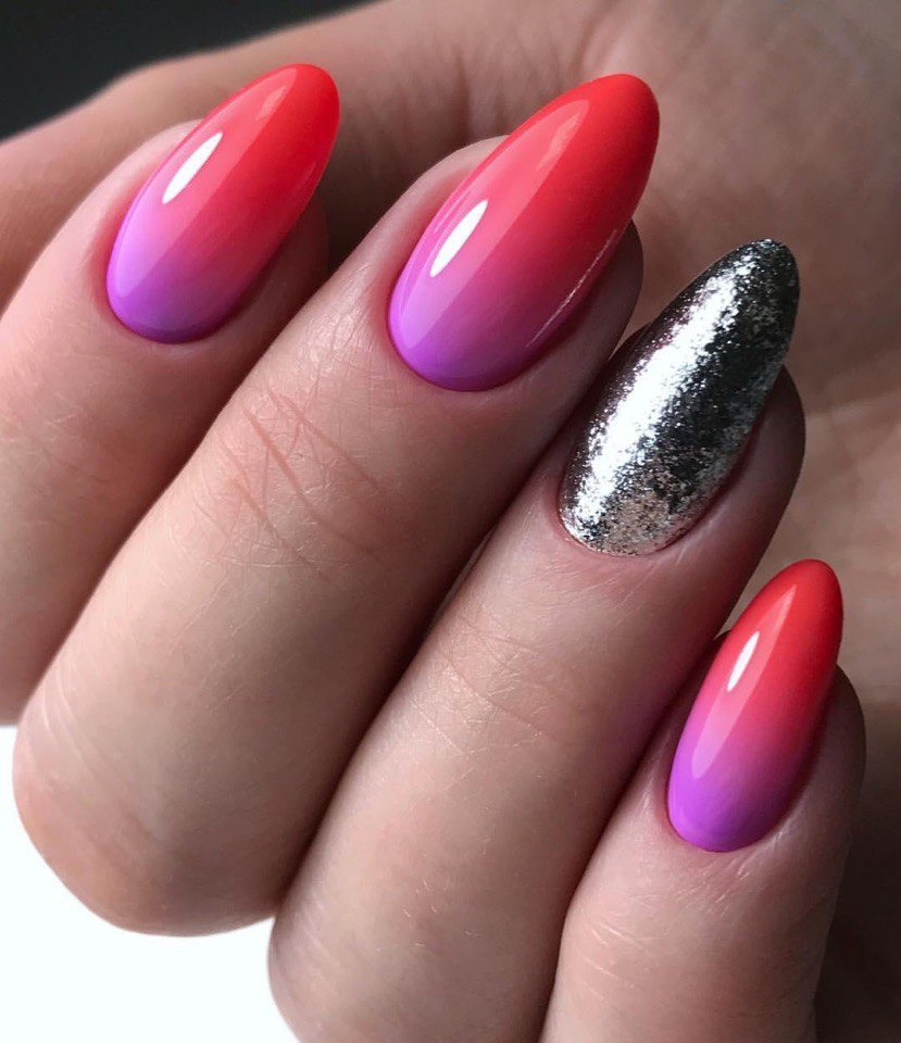 Ideas of gradient nails