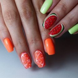 mix match nails photo