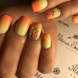 Summer nails 2018 photo