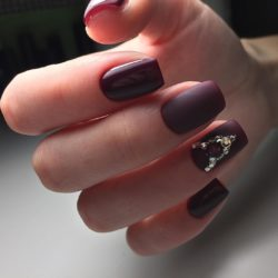 Evening nails photo