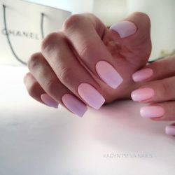Beautiful nails to the sea photo