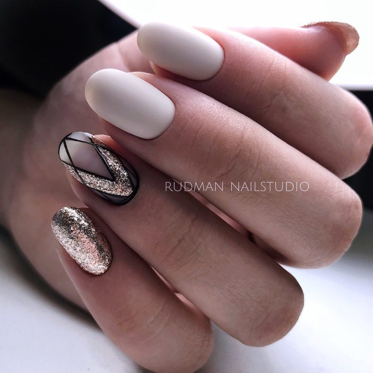 Geometric nails ideas