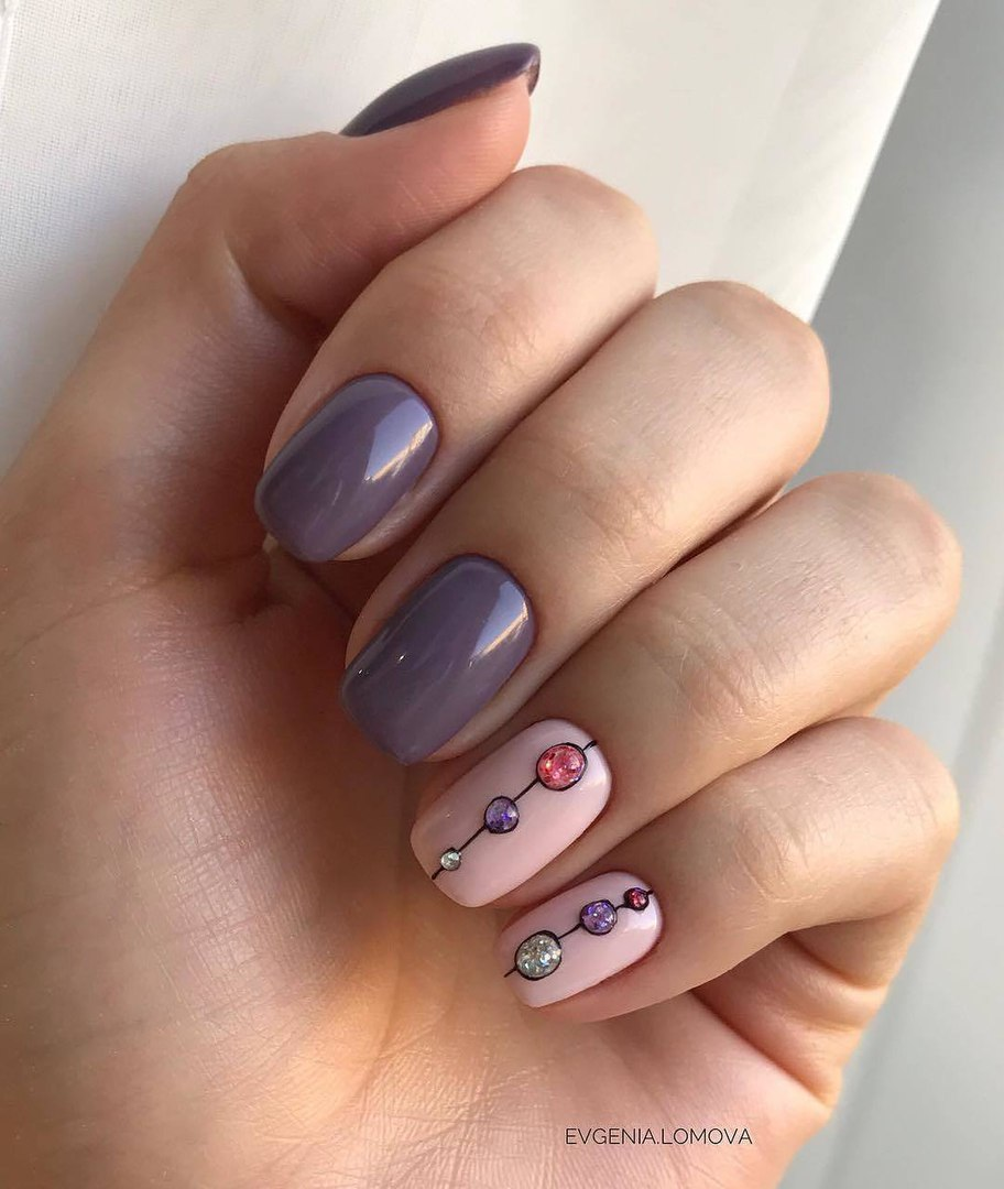 Beautiful autumn nails