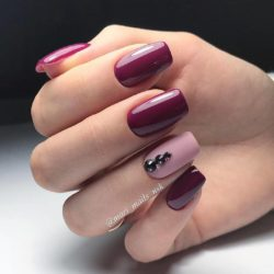 Plain nails photo