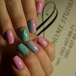 Cute fashion nails photo