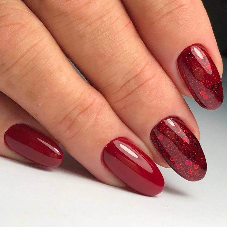 Beautiful bright nails