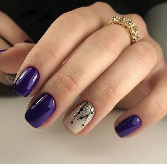 Plain nails