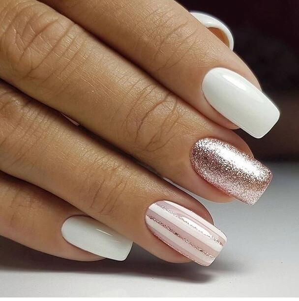 Glitter nails ideas