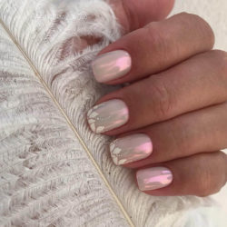 Fashion seasonal nails photo