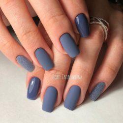 Matte nails photo