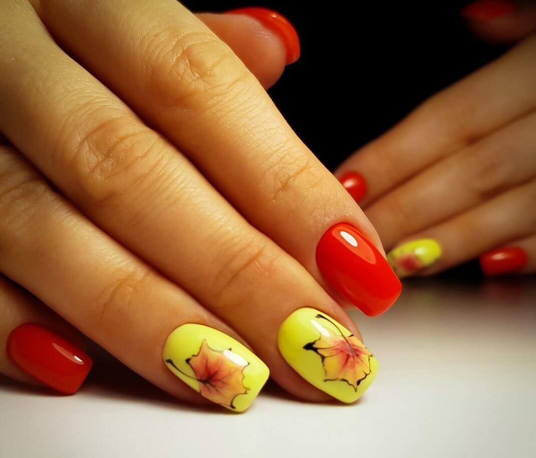 Multi-color nails