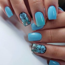 Nails picture photo