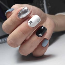 Black nails photo