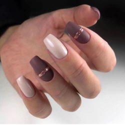 Evening dress nails photo