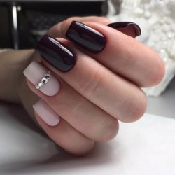 Women day nails photo