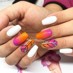 Geometric nails photo