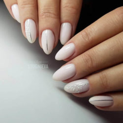 Natural nails photo
