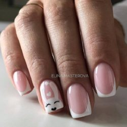 Bunny nails photo