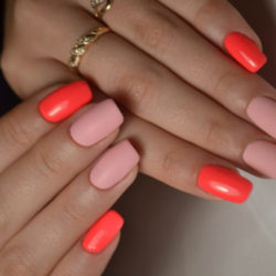 Summer nails 2019 photo