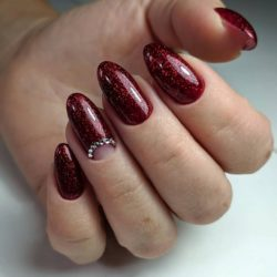 Maroon Nails The Best Images Bestartnails Com