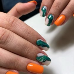 Trendy nails 2019 photo